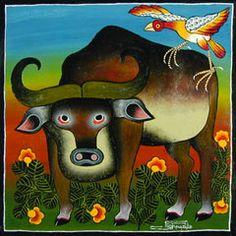 tanzania art | Tinga Tinga Paintings from Tanzania