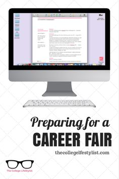 Career Fair Planning — The College LifeStylist