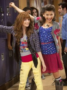 Bella Thorn and Zendaya. Cece and Rocky. Shake it up