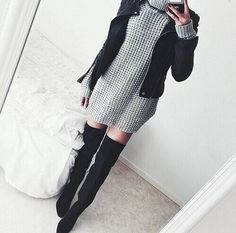 fashion, style, and outfit image Winter Looks, Fall Winter Outfits, Winter Fashion, Look Formal, Casual Outfits, Cute Outfits, Outfit Trends, Looks Cool, What To Wear