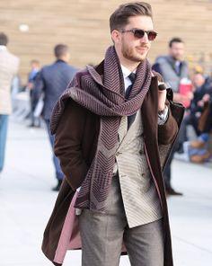 Menswear street-style - Pitti Uomo 2014