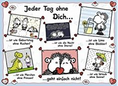 Ravensburger Puzzle 14711 - Sheepworld Jeder Tag ohne Dich