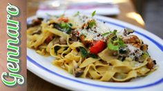 The Italian Stallion cooks up a quick and delicious tagliatelle with a selection of wild mushrooms.