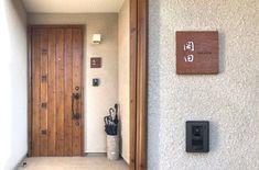施工写真 Garage Doors, Entryway, Outdoor Decor, Sign, Home Decor, Entrance, Homemade Home Decor, Door Entry, Interior Design