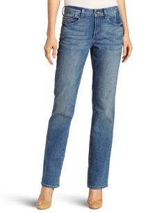 Amazon.com: Not Your Daughter's Jeans Women's Marilyn Straight Leg Jean: Clothing