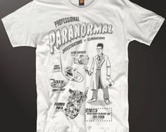 Your Shop - Items Movie Gift, Ghostbusters, Inspired, Mens Tops, T Shirt, Gifts, Shopping, Supreme T Shirt, Tee