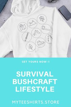 Survival camping tips Survival Prepping, Survival Gear, Survival Skills, Bushcraft Skills, Survival Shelter, Survival Backpack, Survival Hacks, Wilderness Survival, T Shirts