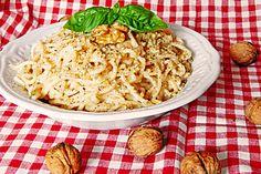 Walnussspaghetti, ein sehr leckeres Rezept aus der Kategorie Pasta. Bewertungen: 66. Durchschnitt: Ø 4,0.