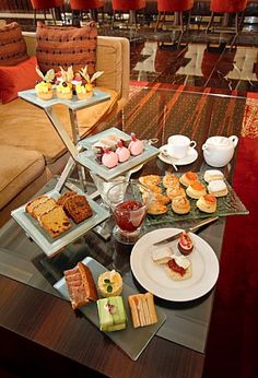 ✿⊱╮Tea~Time at Raffles, 5 Star Luxury Hotel  in Dubai