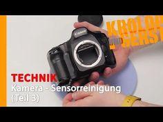 Sensorreinigung für die Kamera - Alles, was du wissen musst