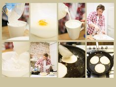 Jamie Oliver's 1-cup pancakes - perfect!