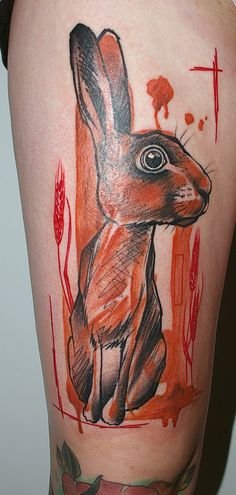 Amazing tattoos by peter aurisch  Looks like Watership Down