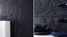 Trendy Thermoformed Wallpapers