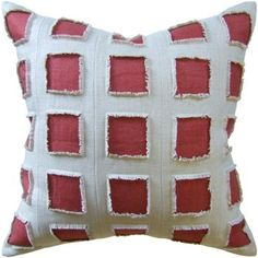 Great prices on Luxury Decorative Pillow in Linen.  Free shipping!