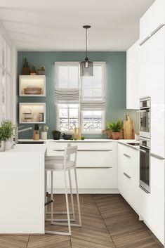 Séduction garantie avec cette cuisine pensée pour le quotidien, votre cuisine laquée est à la fois pratique, tout en s'intégrant parfaitement à votre intérieur. Votre cuisine LUMINA possède un design contemporain, une ergonomie incomparable ainsi que de nombreux rangements.