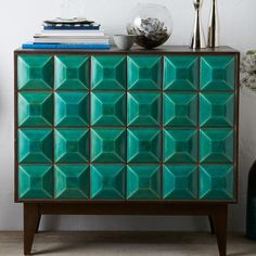 Lubna Chowdhary Tiled Buffet - Teal