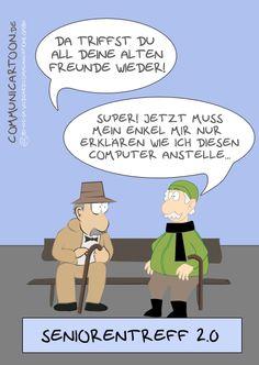 #45 - Facebook – das Altherren-Netzwerk? Mehr unter: www.wildcard-blog.de oder auf www.communicartoon.de