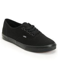 6056705c36 Vans Authentic Lo Pro All Black Shoes