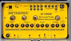 Metasonix 'D-1øøø' :: Vacume-Tube Drum Machine.