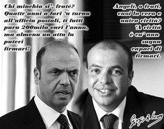 C'è un motivo per cui il fratello del ministro Alfano non ha firmato nessun atto postale
