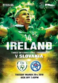 FAI Republic of Ireland Football Republic of Ireland v Slovakia digital magazine - Read the digital edition by Magzter on your iPad, iPhone, Android, Tablet Devices, Windows 8, PC, Mac and the Web.