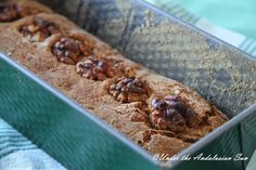 Walnut and apple bread - no yeast, raising, waiting or kneading required!