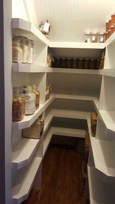 Under the stairs pantry small pantry white pantry pantry ideas small pantry ideas Kent house The Best of home design ideas in Tips Home Decor Closet Under Stairs, Basement Stairs, Stairs Kitchen, Space Under Stairs, Basement Ideas, Basement Ceilings, Basement Kitchen, House Stairs, Hallway Ideas