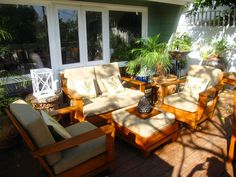 outdoor furniture   MY HOLLYWOOD HILLS DECK MAKEOVER - PART 1 - BEFORE & AFTER IN JUST 5 ...