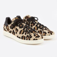 84970eaacb9b Adidas Stan Smith - Leopard