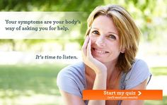 Take this free quiz to find out if you are experiencing symptoms of menopause and hormonal imbalance.