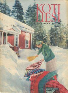 Finland, Retro Vintage, Nostalgia, Old Things, Memories, Illustration, Painting, Winter, Historia