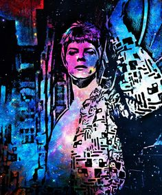 David bowie / indigo art .