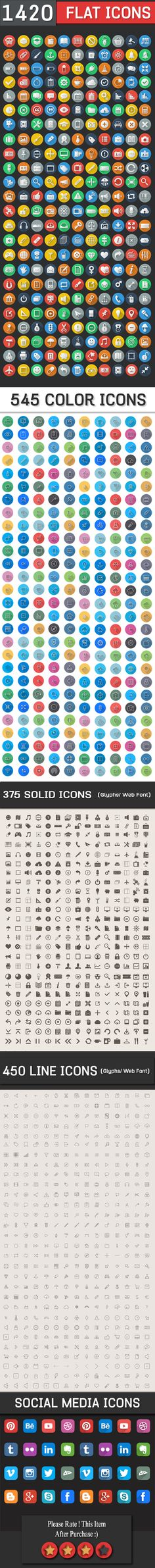 1400+ Flat Icons Bundle – Wp, ios7, Android ready Icons set for Designers and Developers from @Cursorch on @Gumroad: https://gum.co/ddm9 Latest News & Trends on #webdesign and #webdevelopment | http://webworksagency.com