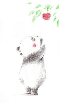 Bobo #illustration #artwork #panda