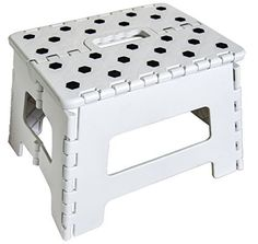 Orgalif Heavy Duty Folding Step Stool with Anti Slip Dots & Strong Support Step Ladder for Adults and Kids (White) by ORGALIF via https://www.bittopper.com/item/4437515209982ce10bc8a099a900401505e14a/