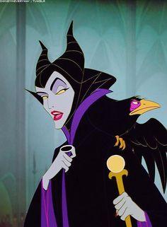 Day 1: My favorite villain is Maleficent