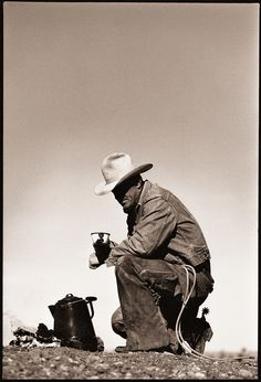 Cowboy coffee httpamazonreluctant cowboy elizabeth forty years running to the gods of light shadow by john running via fandeluxe Images