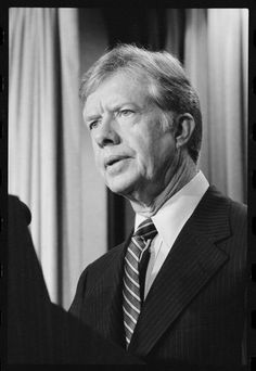 """One of the best presidents of the recent past, James """"Jimmy"""" Earl Carter, 39th President (1977- 1981)."""