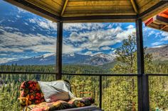 Montana... How could you not want to wake up to that view every morning!  1 step closer to Heaven if you ask me!