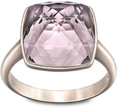 Swarovski 5033032 Swarovski Rings Jewelry Modern and feminine this ring in rose gold PVD metal featuring a vibrant color is ideal for everyday wear. It displays a Crystal Antique Pink in an exclusive spike cut. Mix and match with other Tempo creations for an on-trend effect.