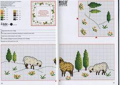 Cross-stitch Sheep Tablecloth...   Gallery.ru / Фото #134 - rico1 - vira-pagut