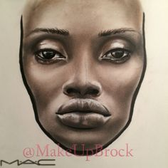 #facechart by Klaudia Orlowska