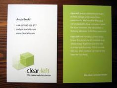 great business card designs - Google Search