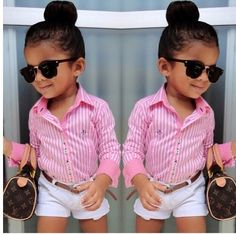 Preppy little girl outfit!!
