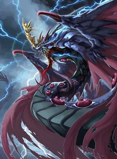 Naga of Fear by pamansazz.deviantart.com on @deviantART