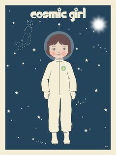 Illustration La constellation du lapin, La p'tite Madeleine
