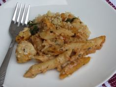 Pesto-Chicken Pasta