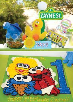 Creative & DIY Sesame Street First Birthday