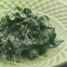 creamed spinach from eating well