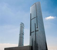 Sky Tower in Abu Dhabi by Arquitectonica ( built in 2010, 292 m & 74 story)
